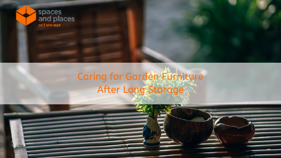 Caring for Garden Furniture After Long Storage