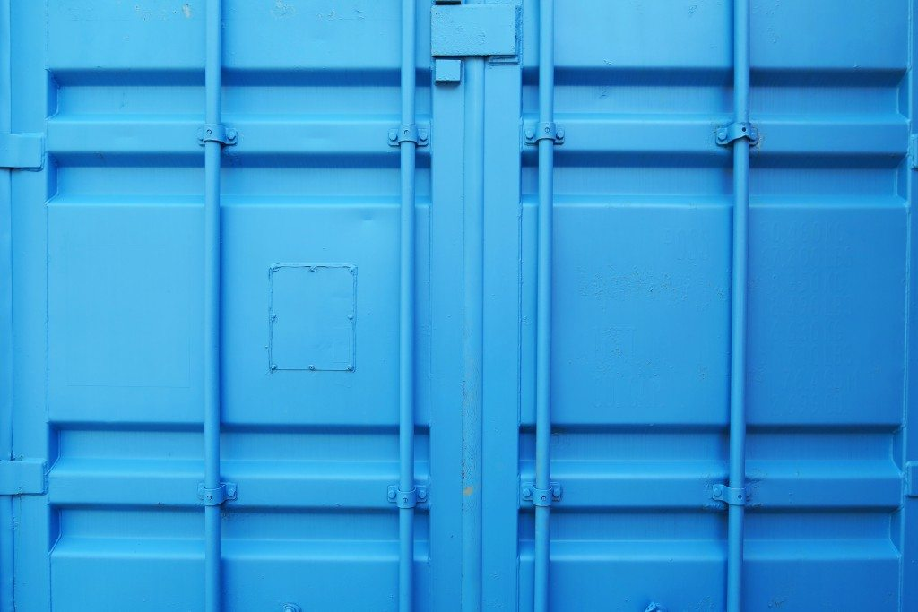 blue storage