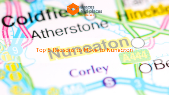Top 5 Reasons to Move to Nuneaton