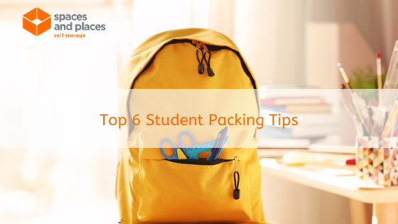 Top 6 Student Packing Tips