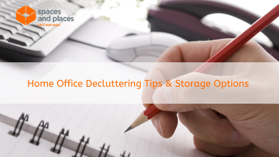 Home Office Decluttering Tips & Storage Options