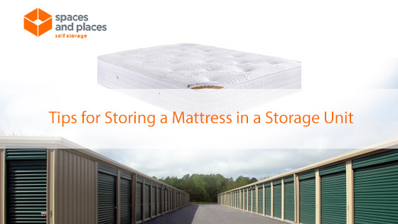 Tips for Storing a Mattress in a Storage Unit